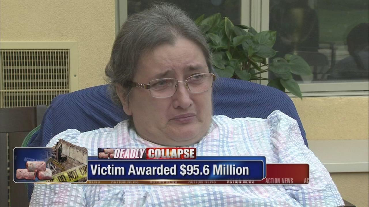 Victim awarded millions in Center City building collapse