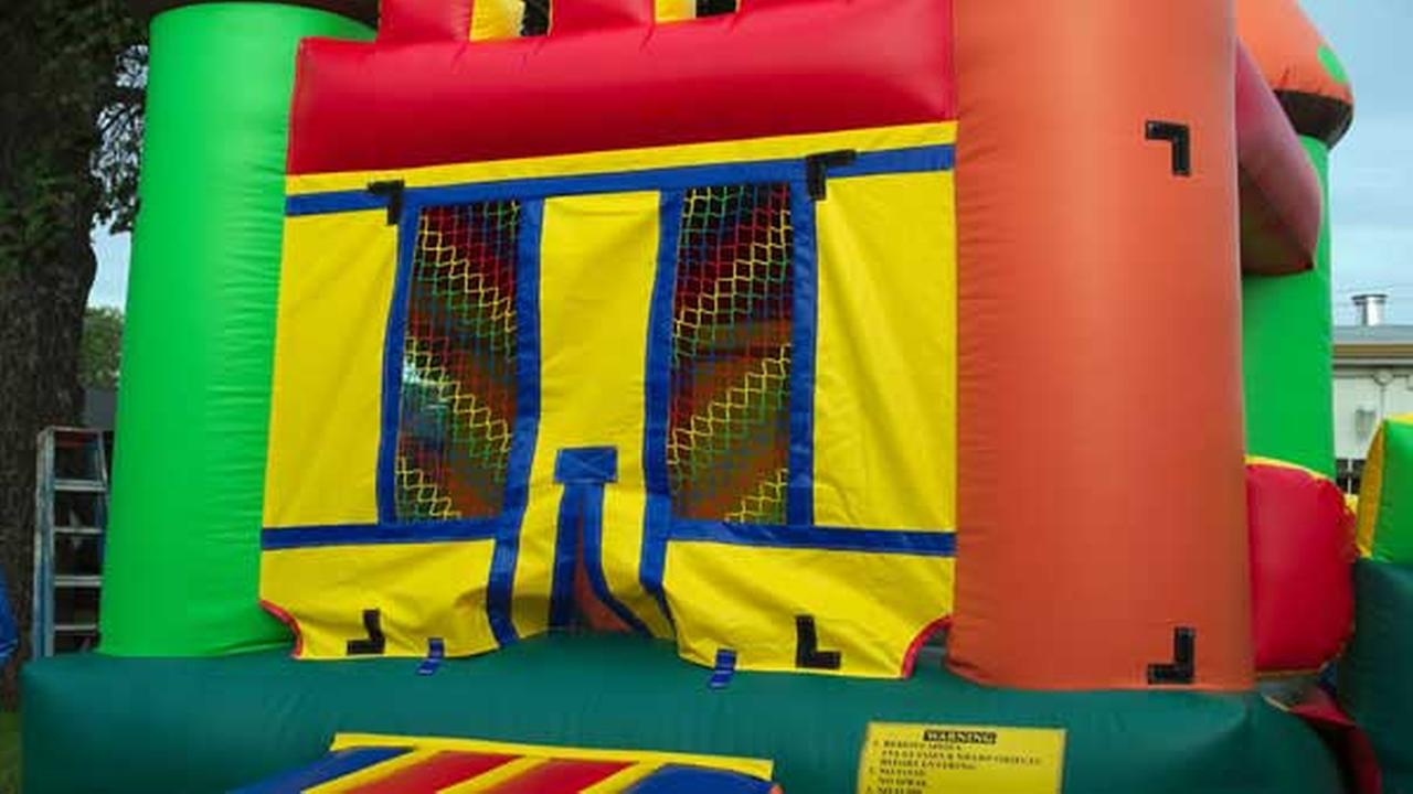 'Bad neighbor' unplugs bounce house at girl's birthday party