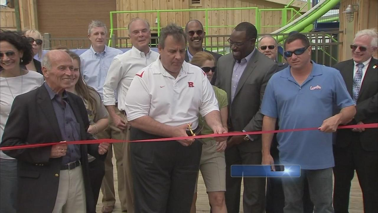 Cutting the ribbon at the Hydrus