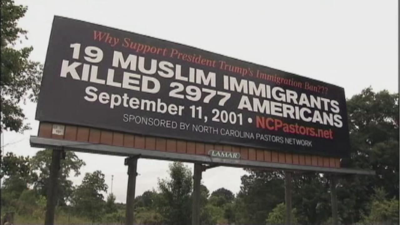 Religious groups controversial billboard sparks debate
