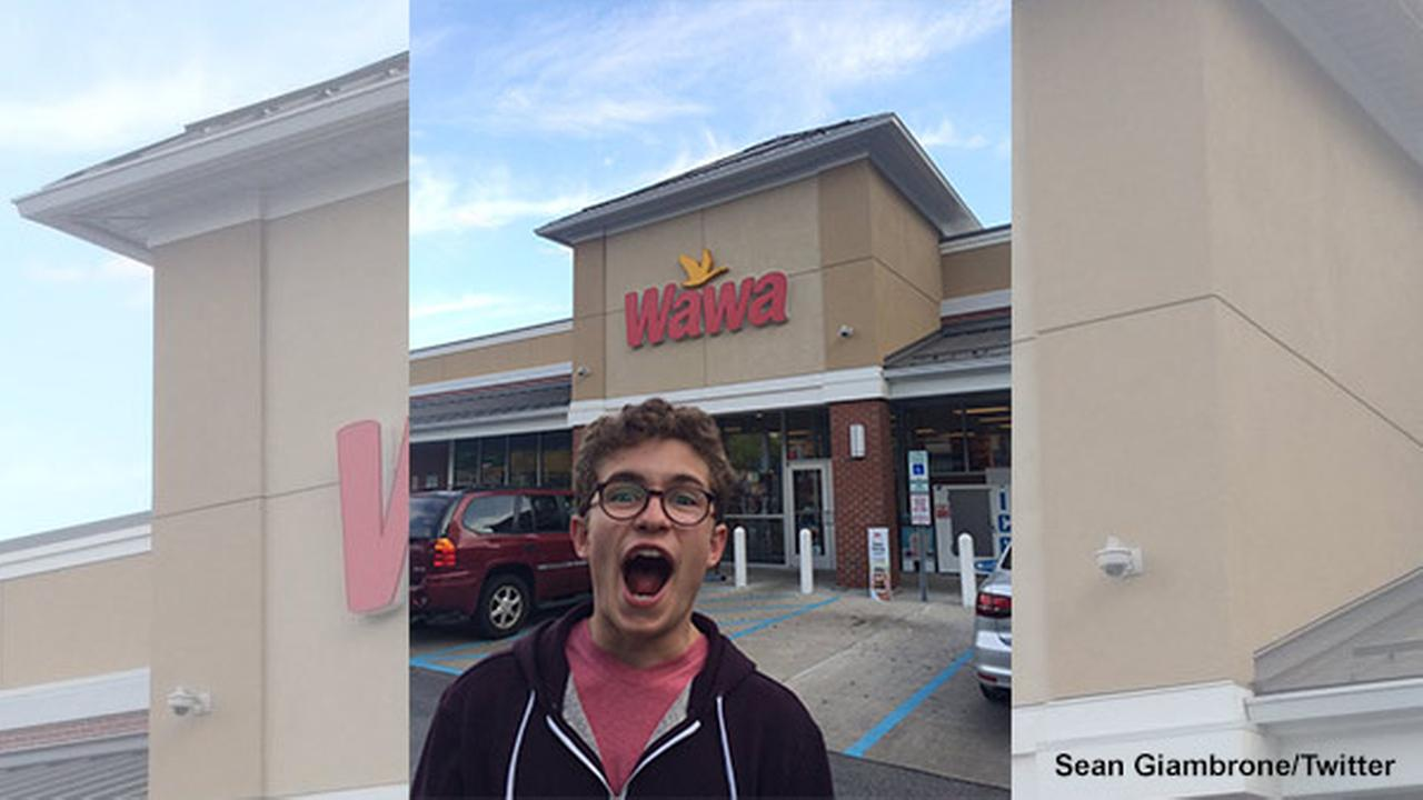 Actor Sean Giambrone visits Jenkintown, the town which is the setting for ABCs The Goldbergs.
