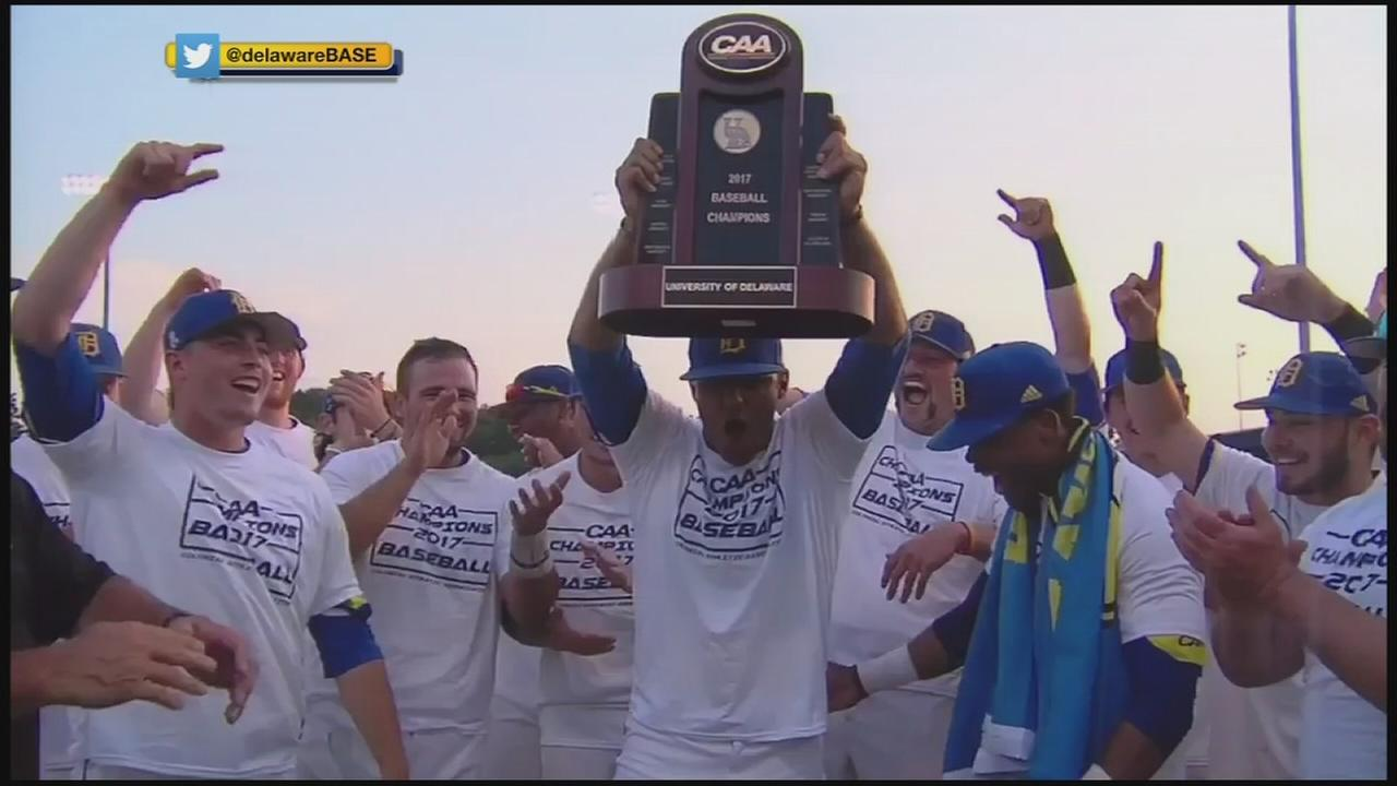 University of Delaware Blue Hens are champions