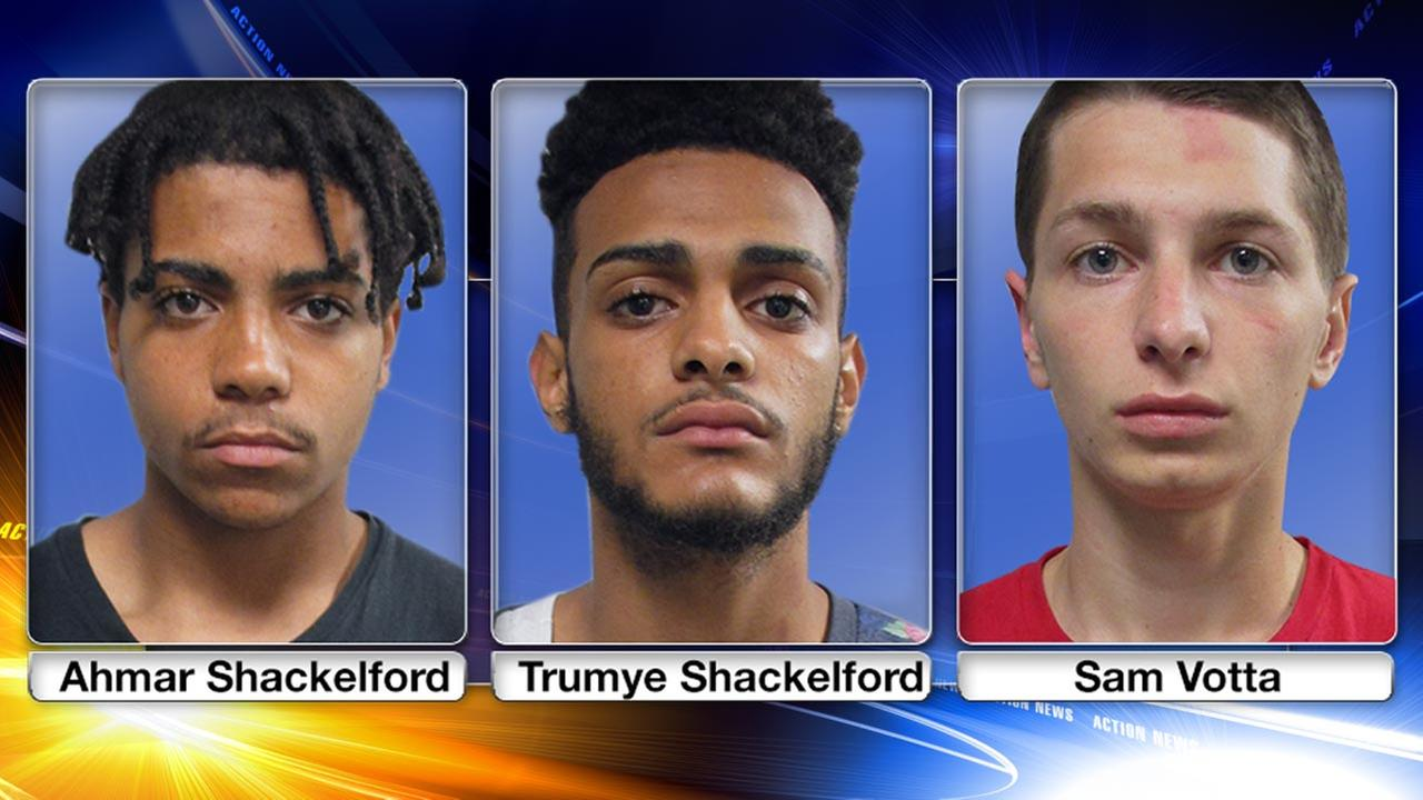 Police nab 3 teens after holdup of University of Delaware student