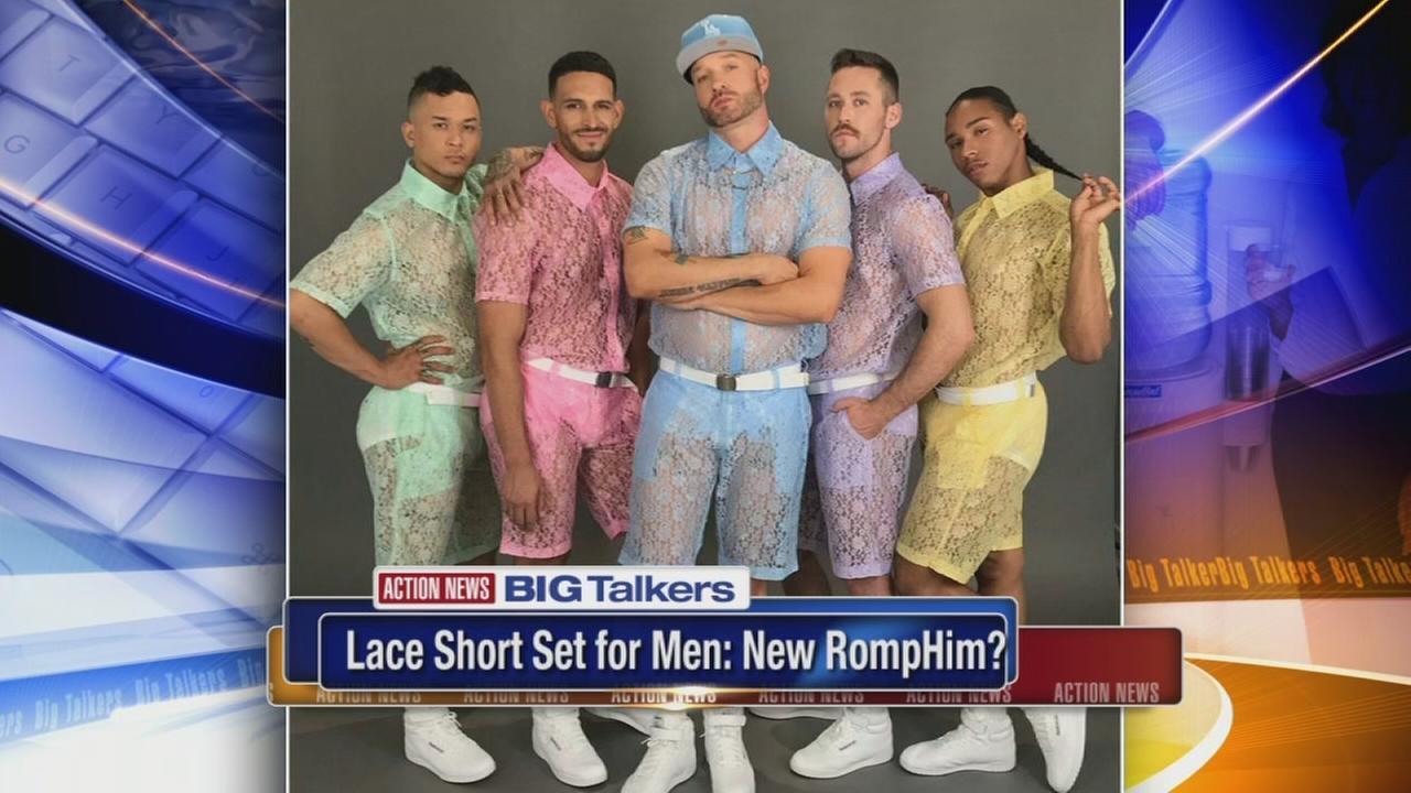Lace short sets for men are the latest fashion rage