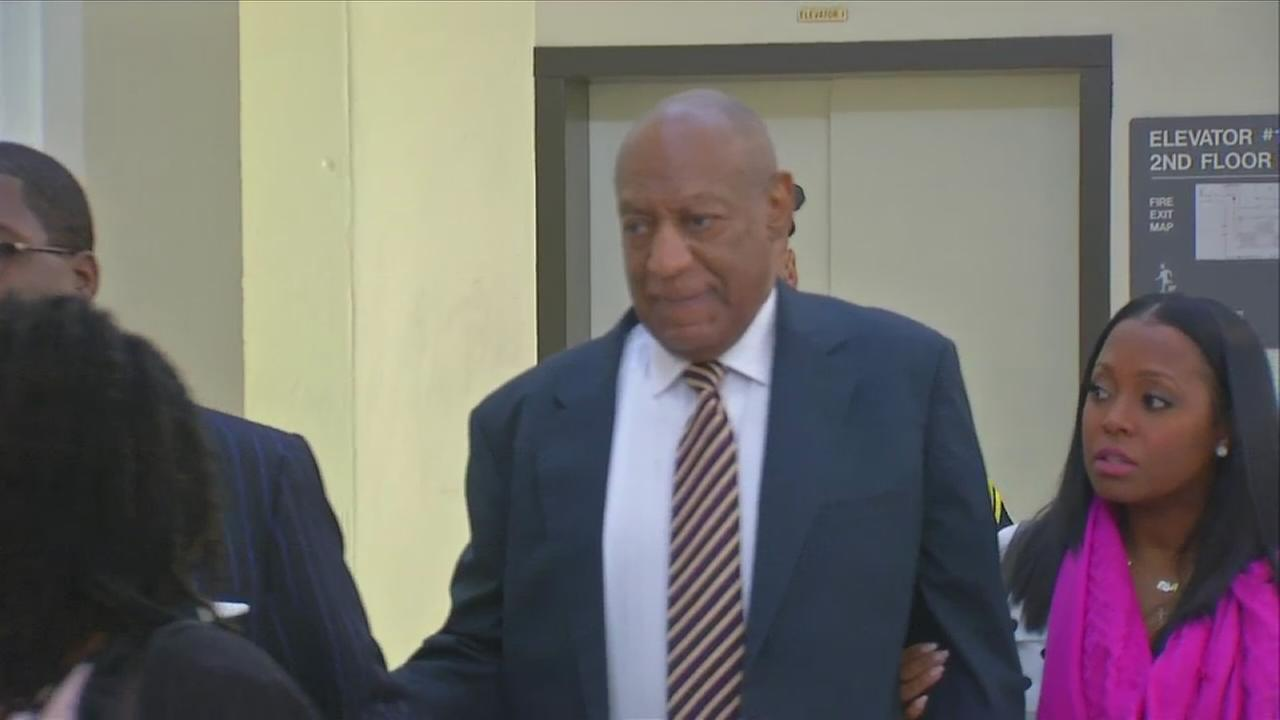 RAW VIDEO: Cosby arrives for trial