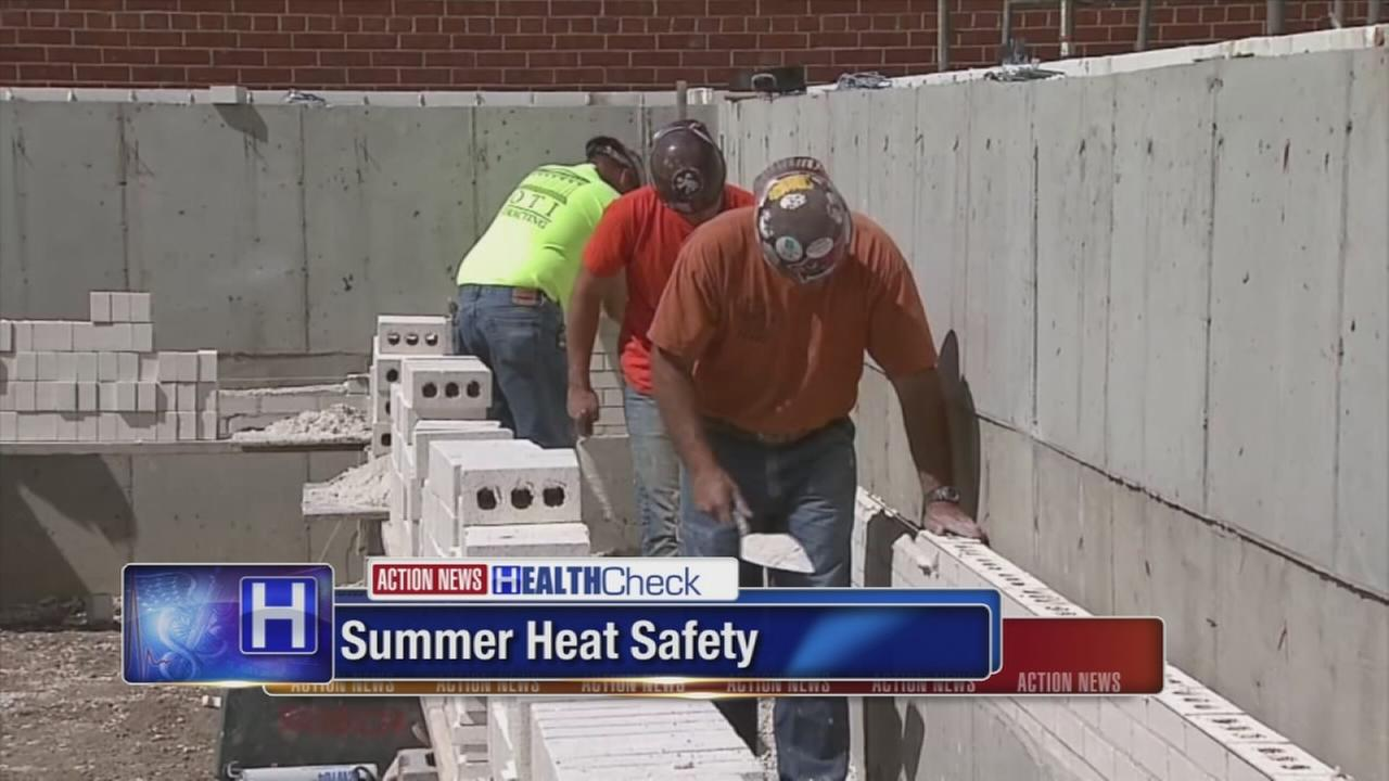 Tips for summer heat safety