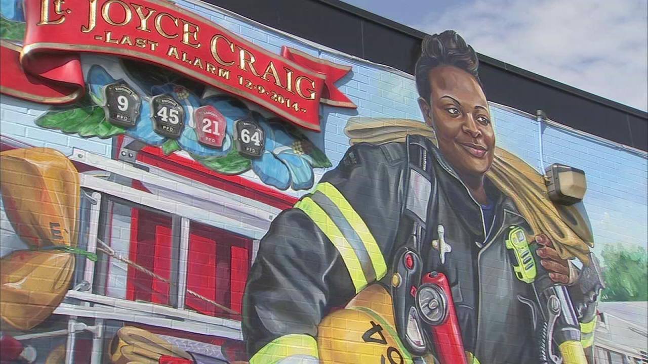 Fallen Philadelphia firefighter Joyce Craig honored