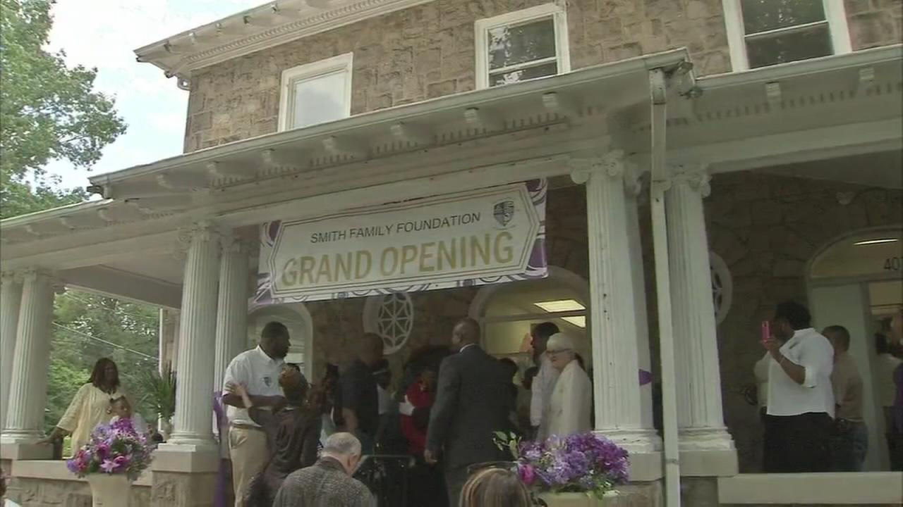 Lottery winners open community center in Trenton