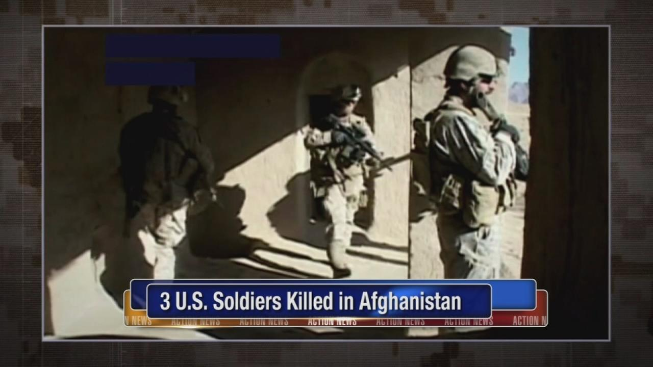Pentagon: 3 US soldiers killed, 1 wounded in Afghanistan