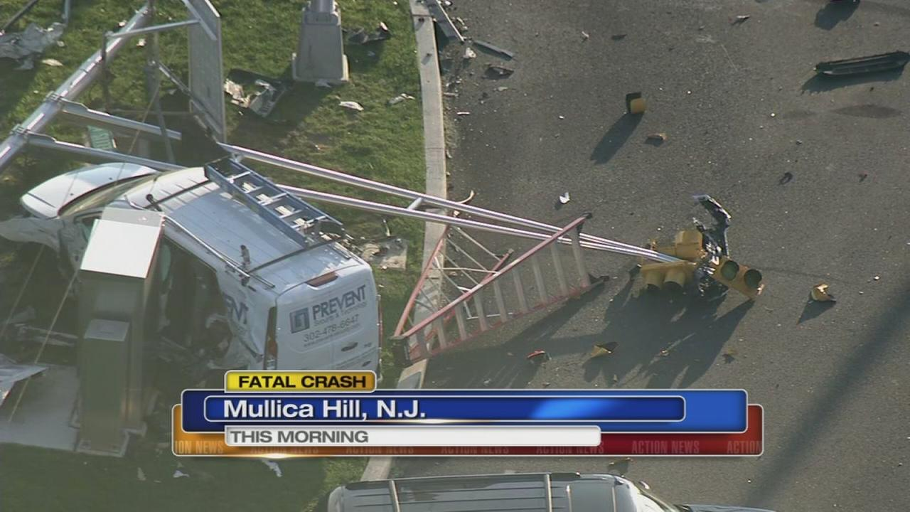 Driver ejected, killed in Mullica Hill crash