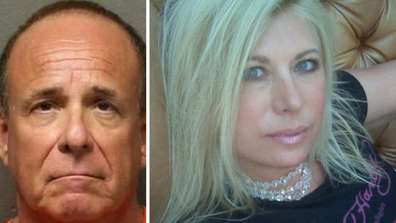 Husband of slain radio host indicted in weapons case
