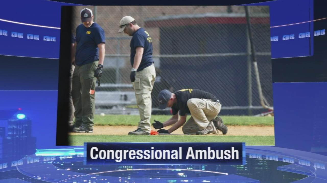 Rifle-wielding attacker wounds GOP leader, killed by police