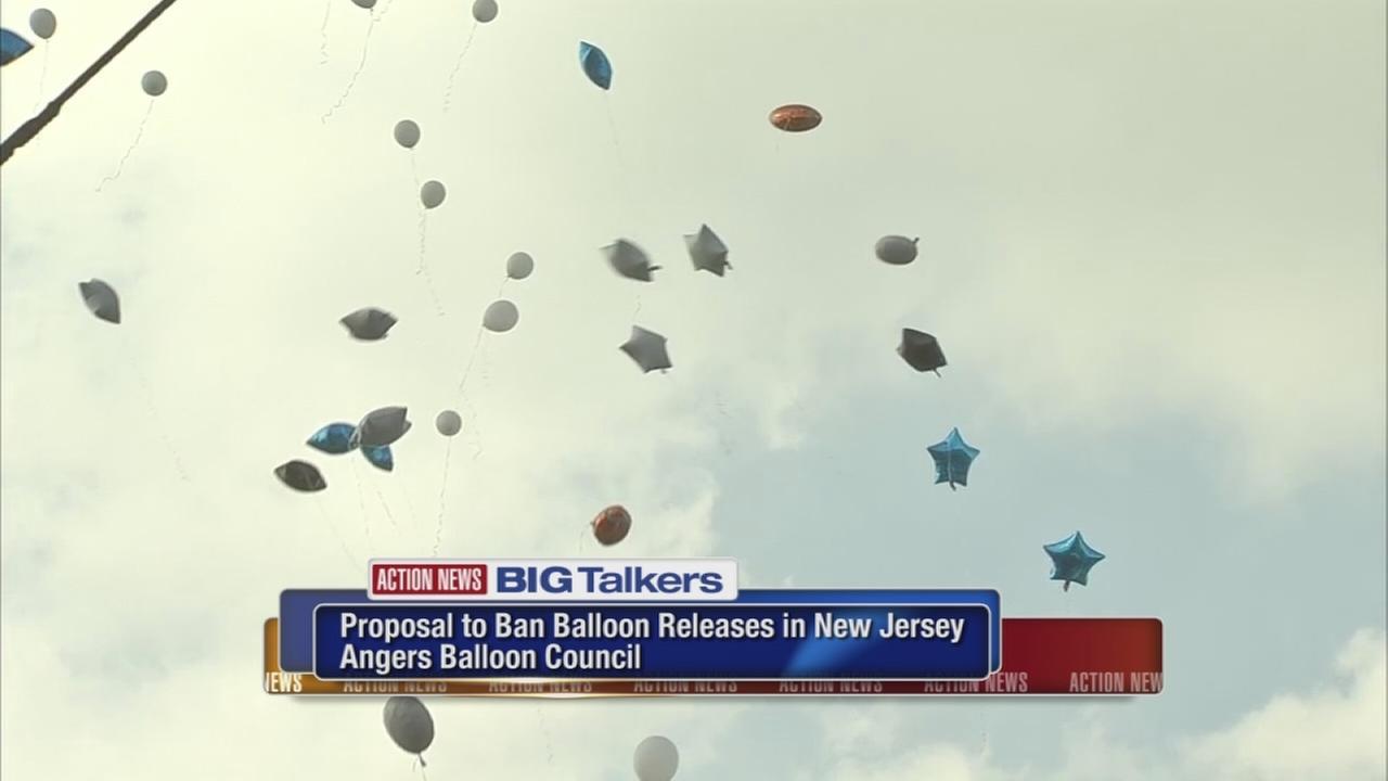 VIDEO: Balloon ban bill angers balloon council