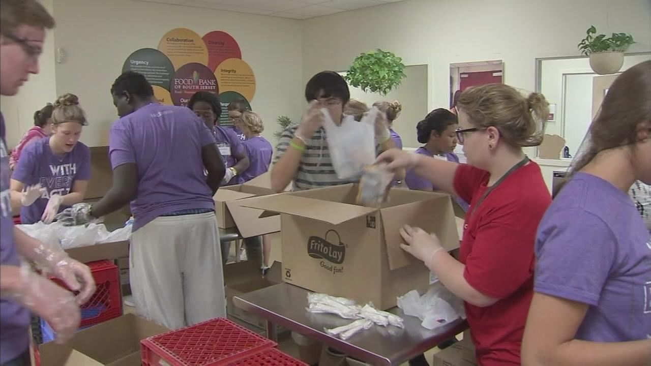 NJ food bank provides lunch for kids over the summer