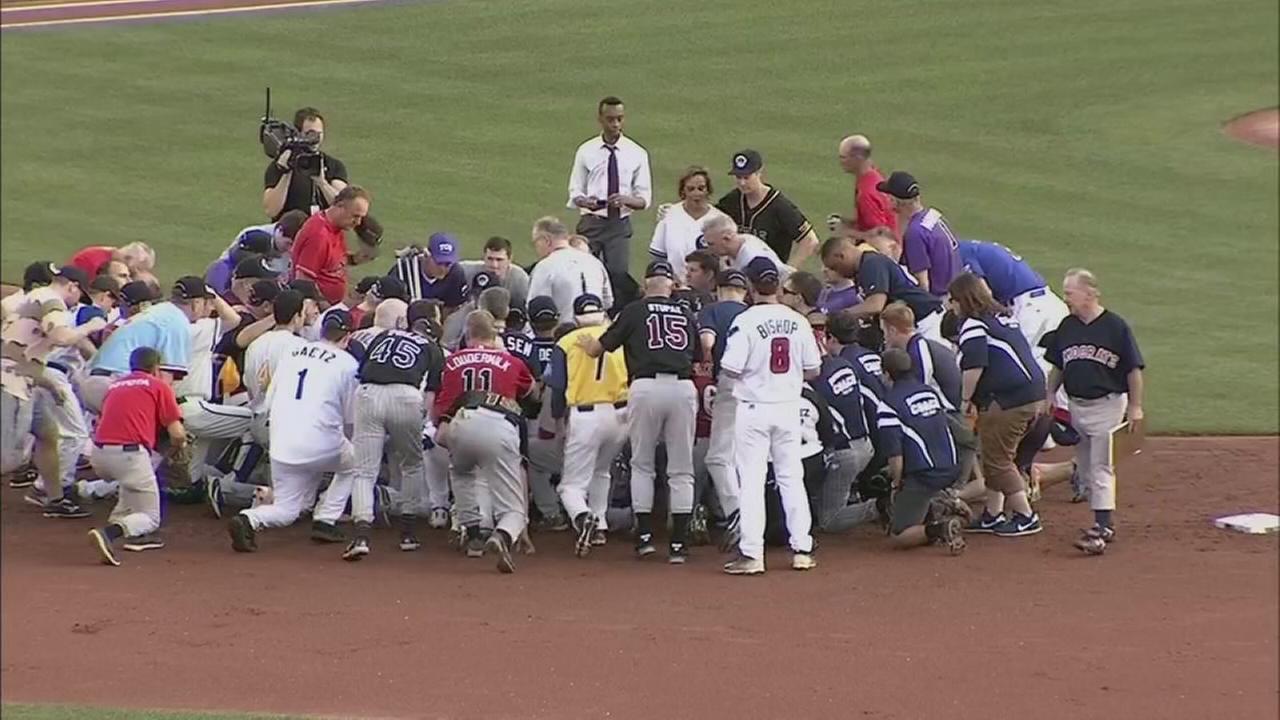 Democrats win congressional charity baseball game
