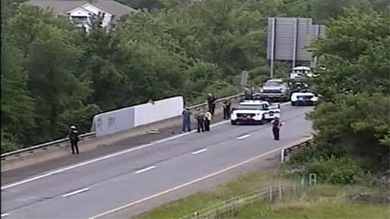 Police activity cleared on I-95 in Bucks County, SEPTA service resumes