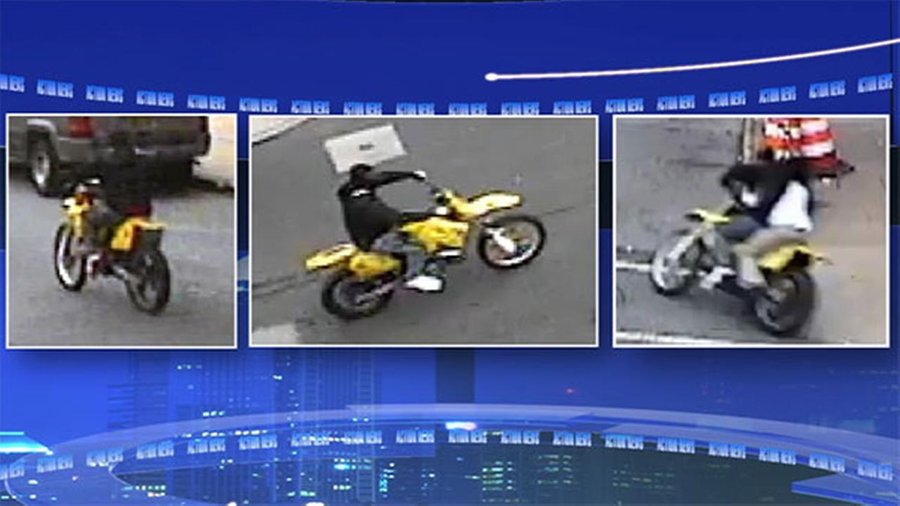 Police seek dirt bike rider who struck child in Wilmington