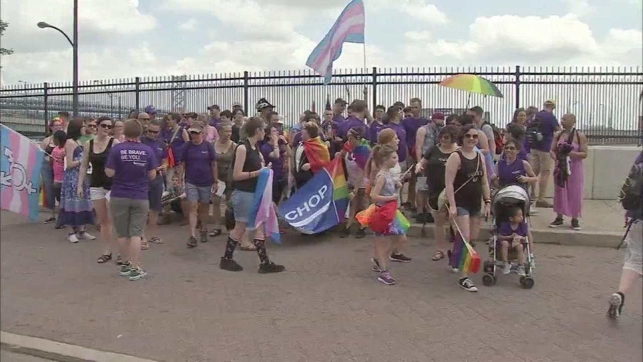 LGBTQ comunity celebrates with Pride Parade in Center City