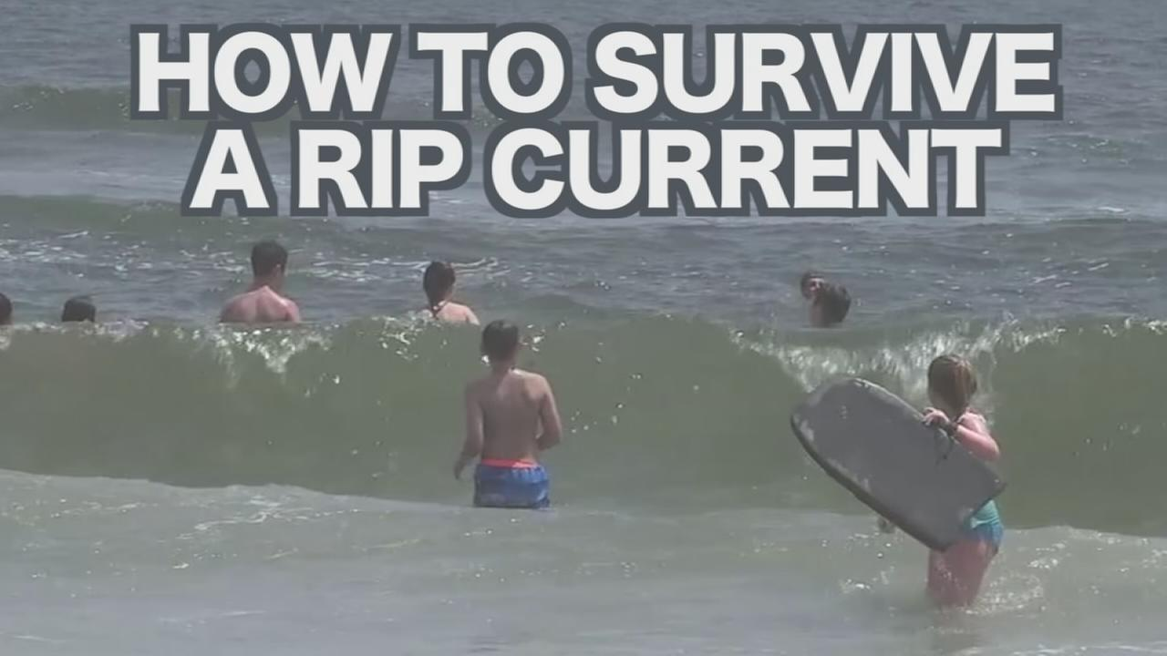 VIDEO: Survive a Rip Current