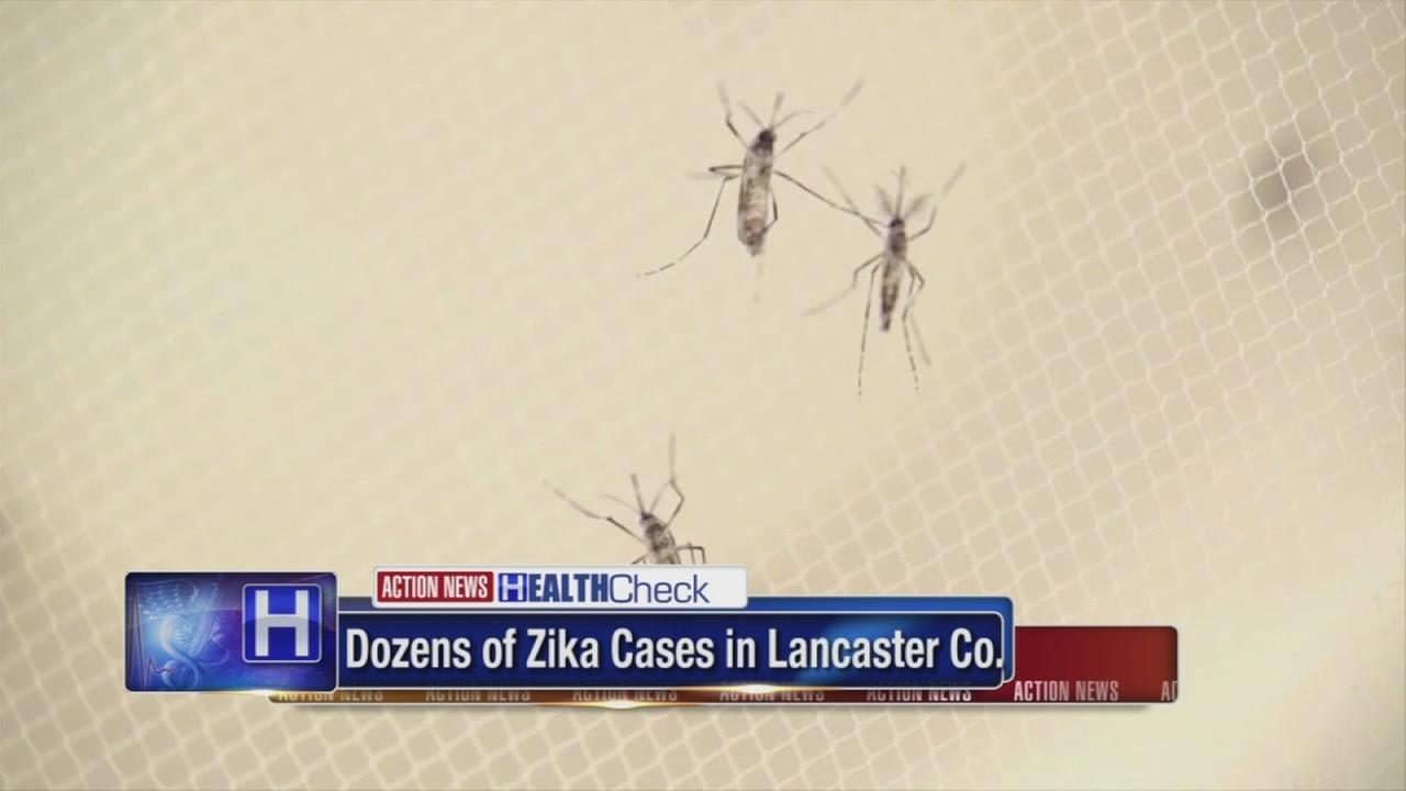 Dozens of pregnant women infected with Zika virus in Lancaster County