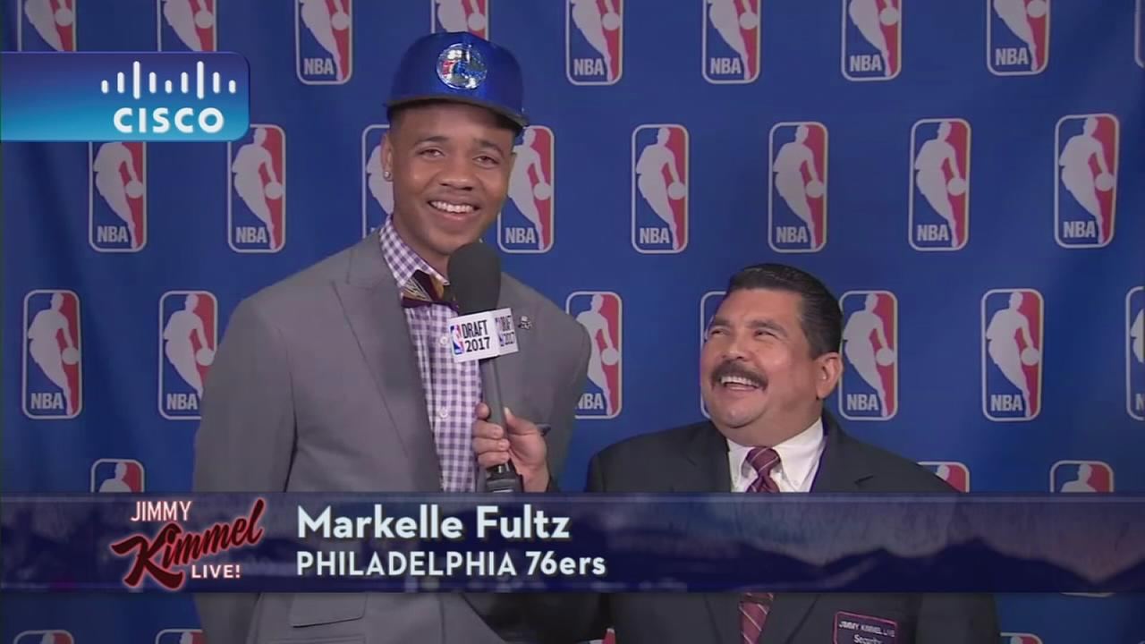Markelle Fultz on Jimmy Kimmel Live