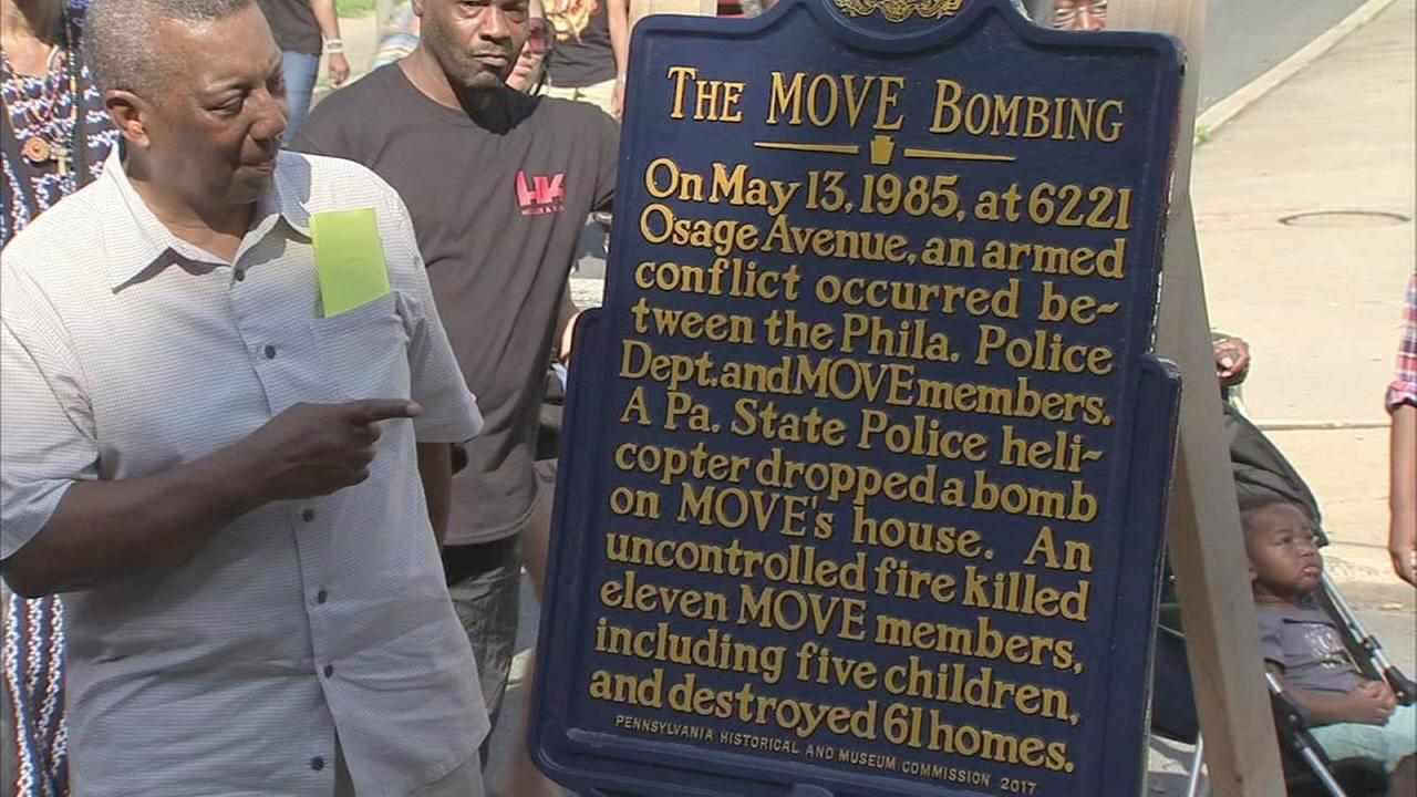 Move Bombing marker unveiled in West Philadelphia
