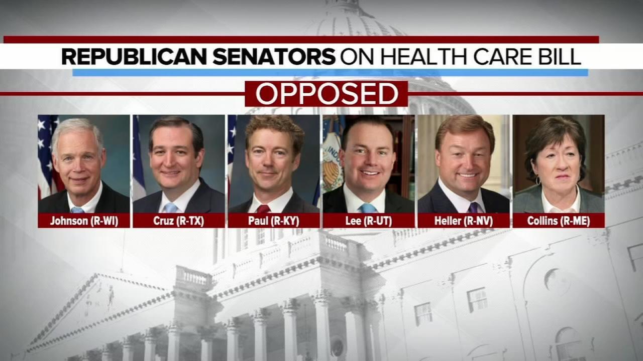 Senate GOP leaders delay health care vote
