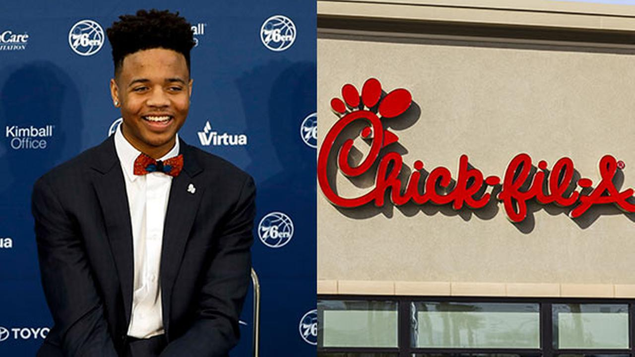 Chick-fil-A to Markelle Fultz: Good news, there are 8 Philly locations