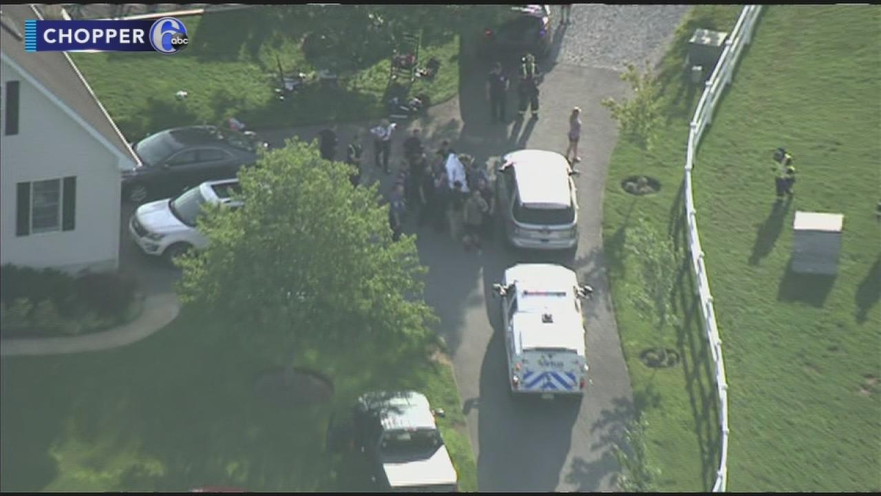 2-year-old boy struck by tractor in Burlington County