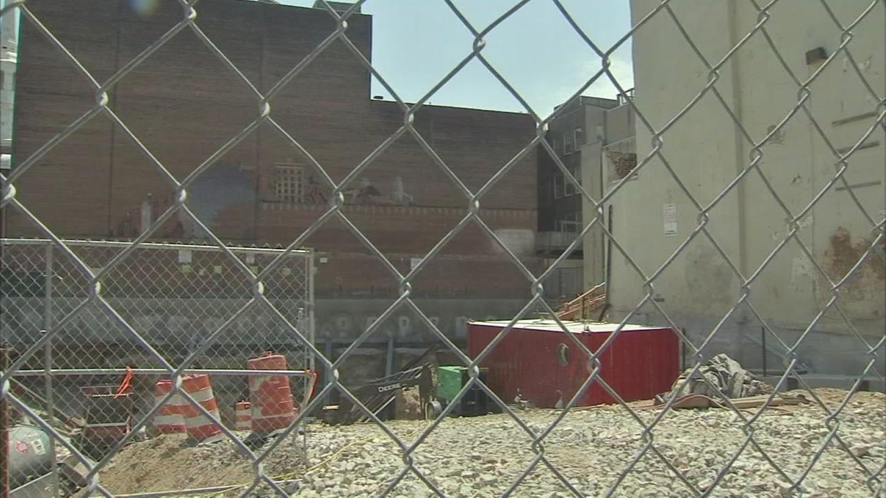 Bones, skeleton remains found at Philly development site