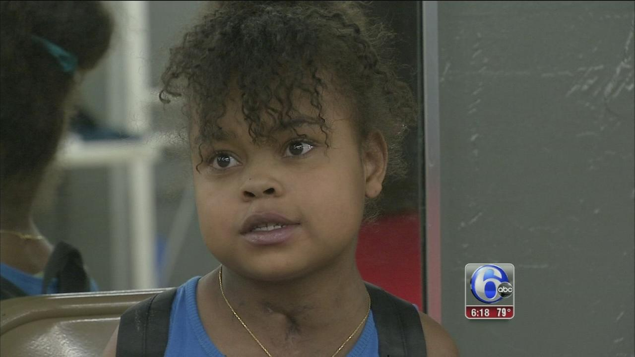 VIDEO: Boxing champs daughter in fight of her life