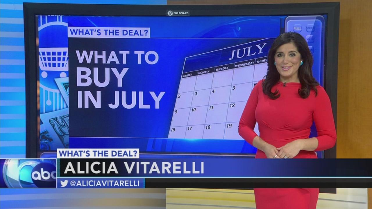 Whats the Deal: What to buy in July