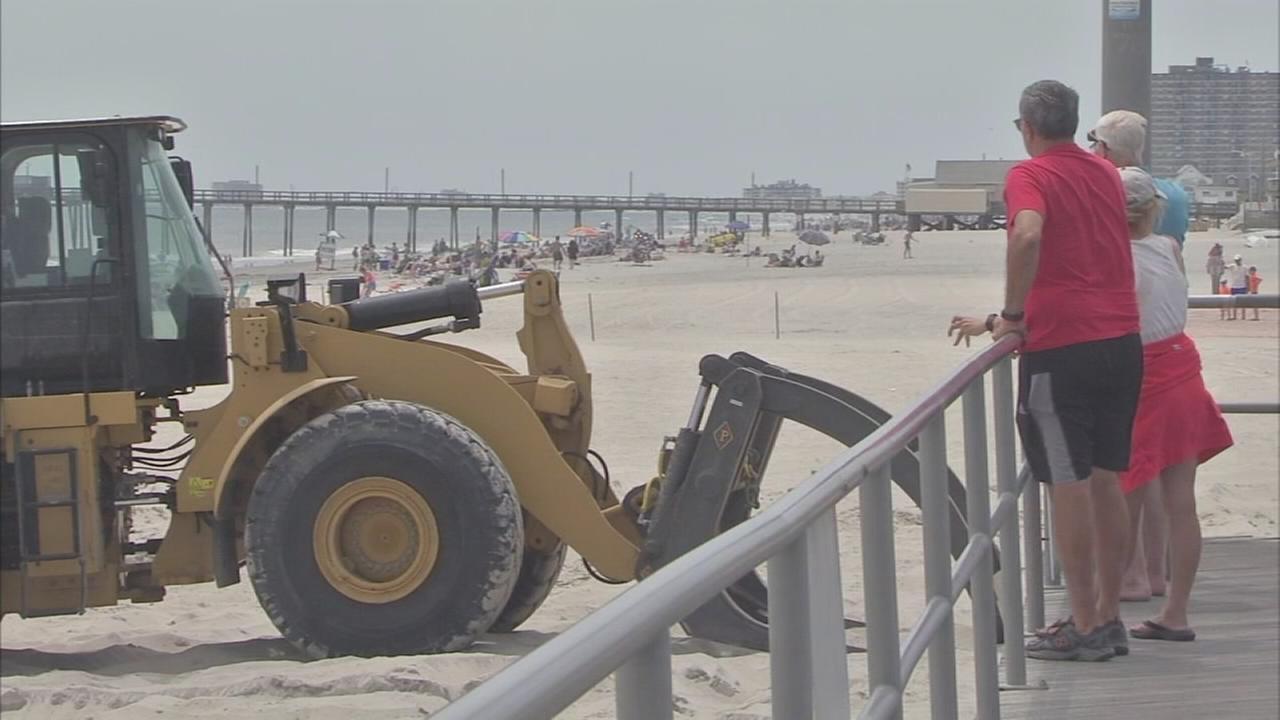 Several Margate beaches close for dune repairs