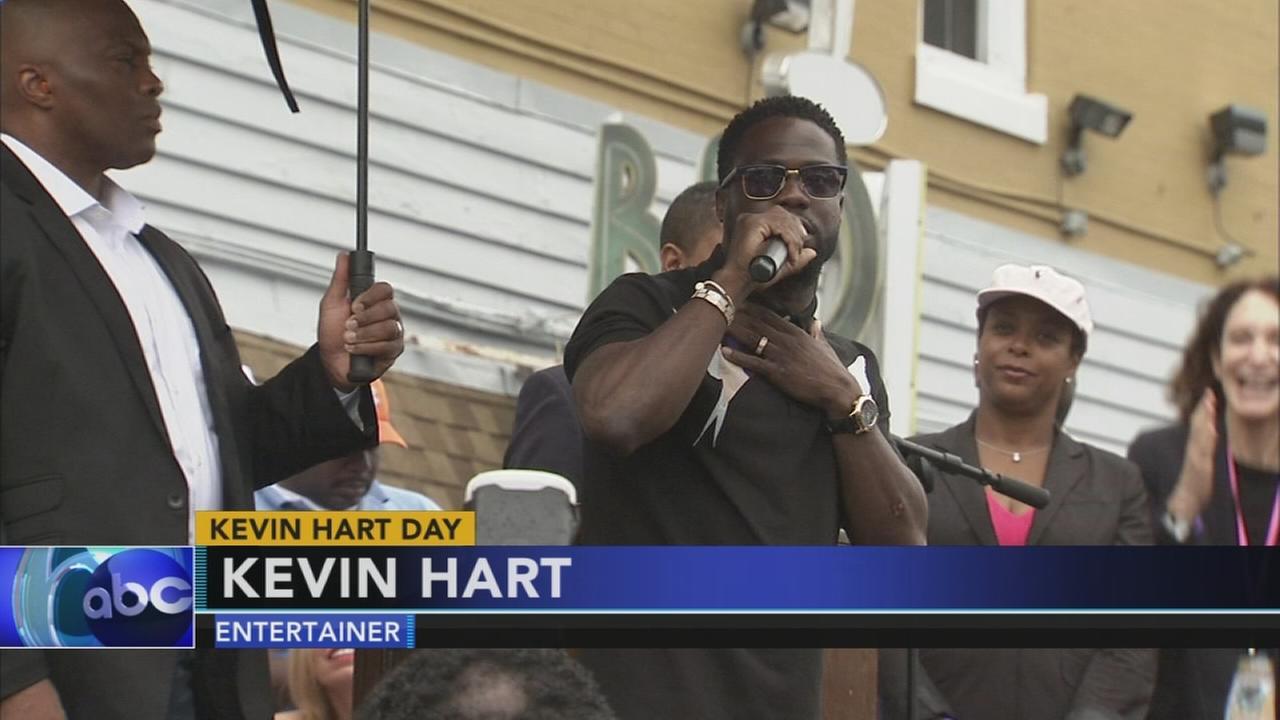 Kevin Hart Day in Philadelphia