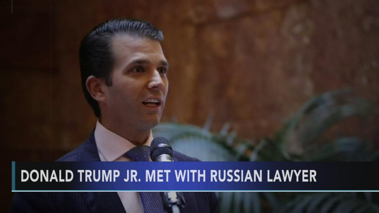 Report: Trump son, son-in-law met with Kremlin-linked lawyer