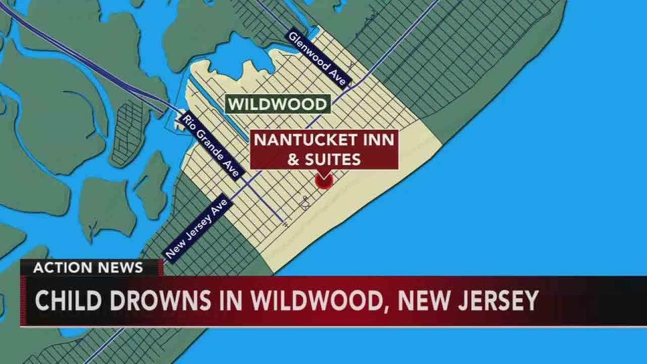 Girl, 6, drowns at hotel pool