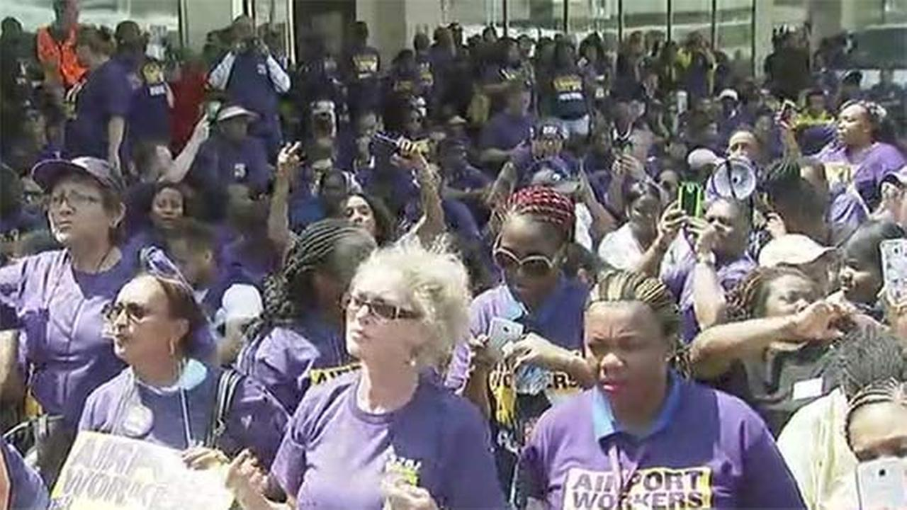 Strike planned at Philadelphia International Airport suspended