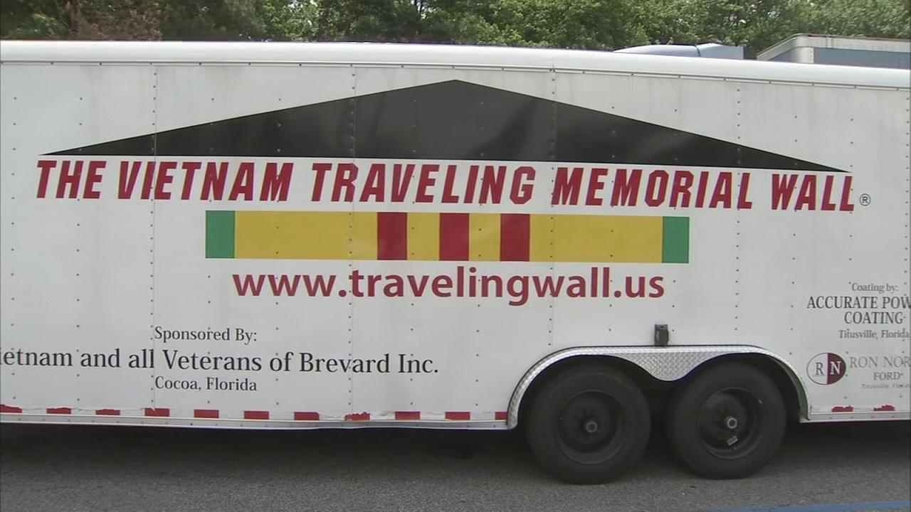 Travelling Vietnam memorial wall