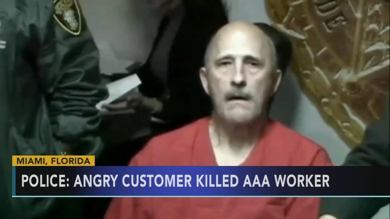 Police: Irate customer fatally shoots AAA service technician