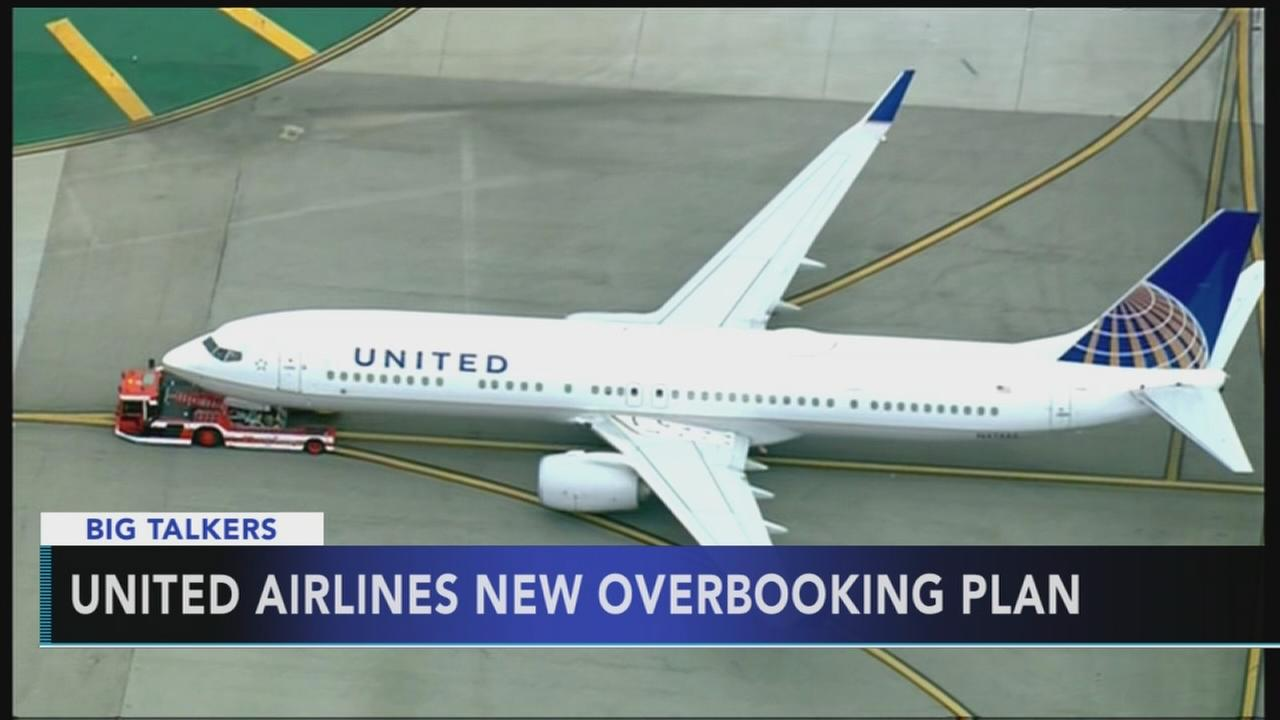United Airlines announces new overbooking program