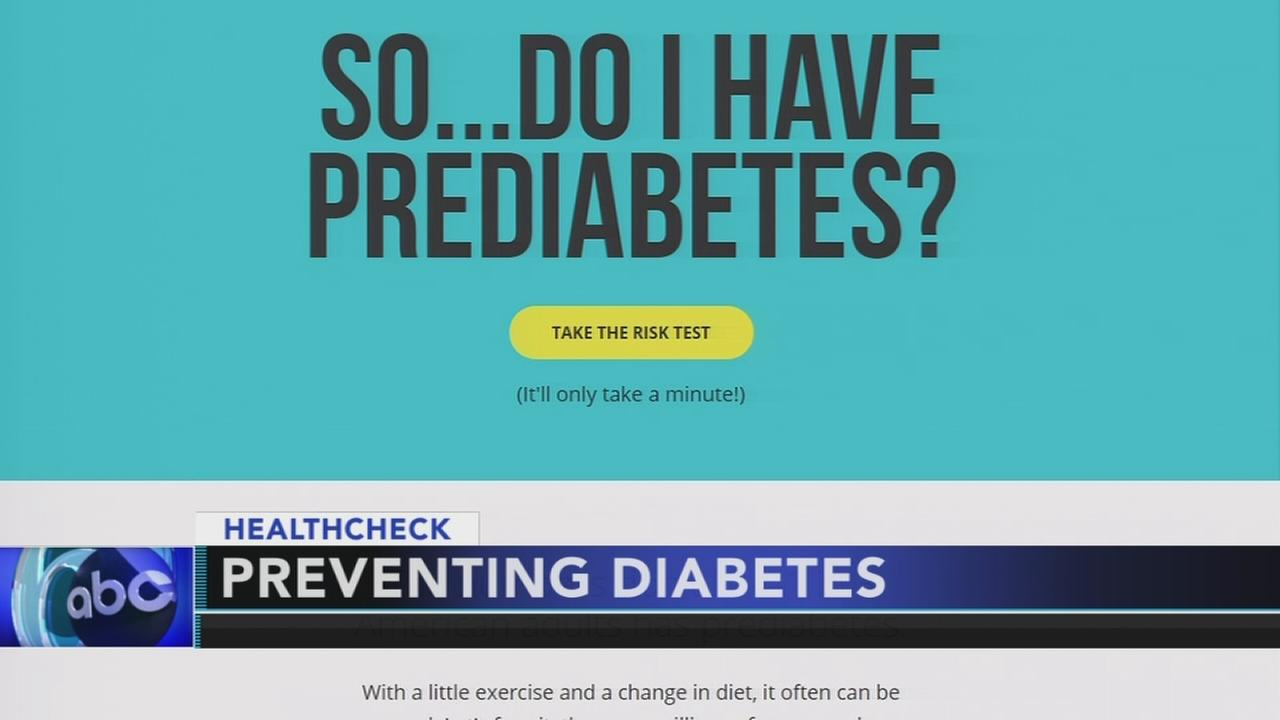 CDC: One out of three adults has prediabetes