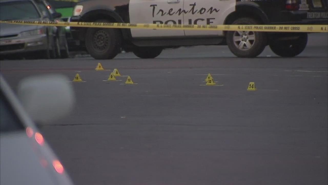 Four teens shot in Trenton