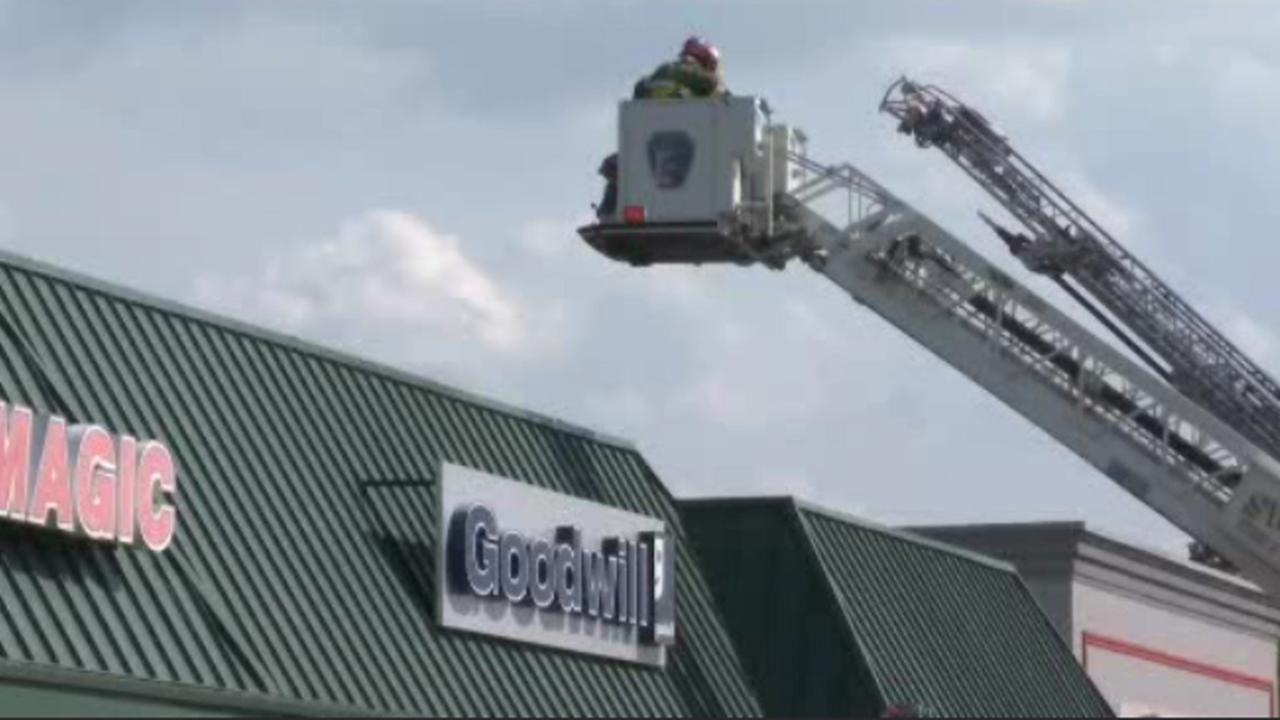 Smoke fills Goodwill store in Delaware County