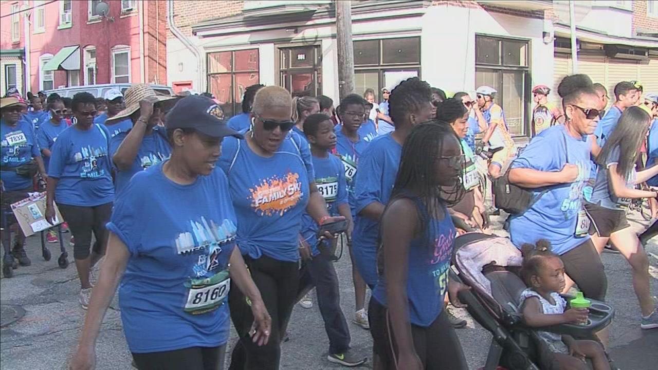 Enon Tabernacle Baptist Church holds annual Fit for Eternity walk and run