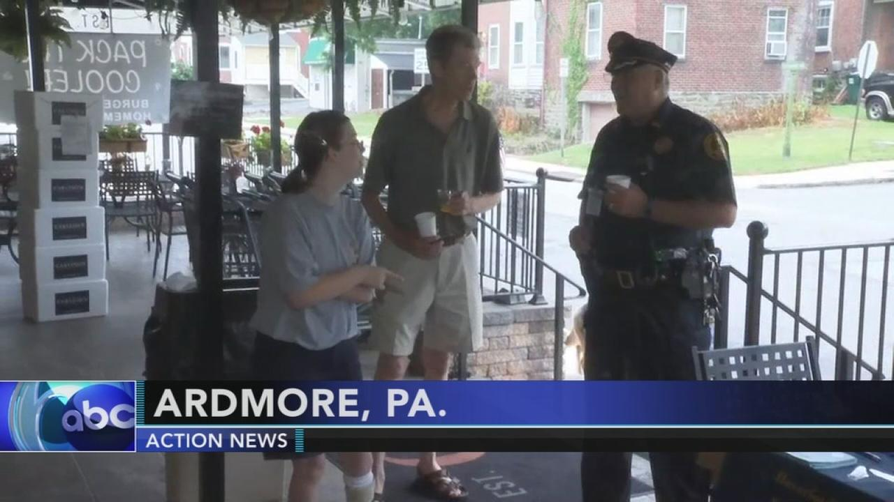 Coffee with a cop in Ardmore