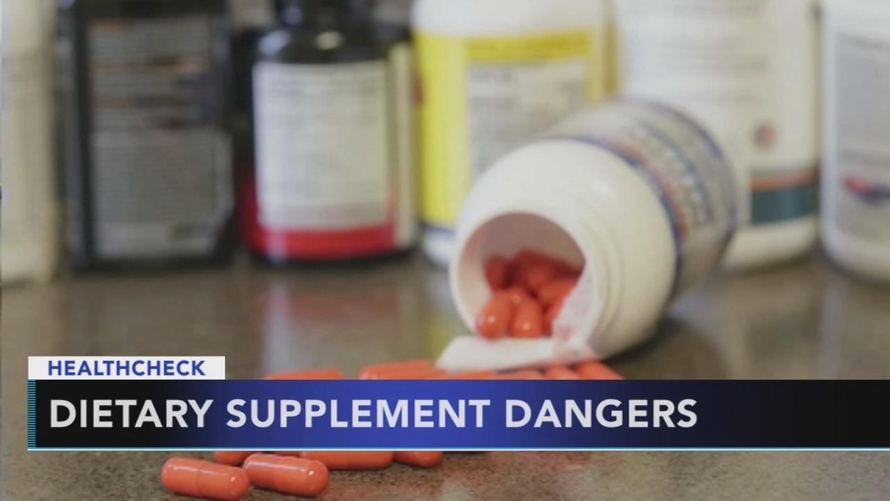 Study highlights dietary supplement dangers