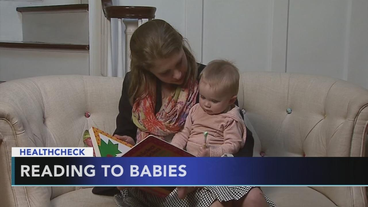 Researchers: Never too early to read to your kids