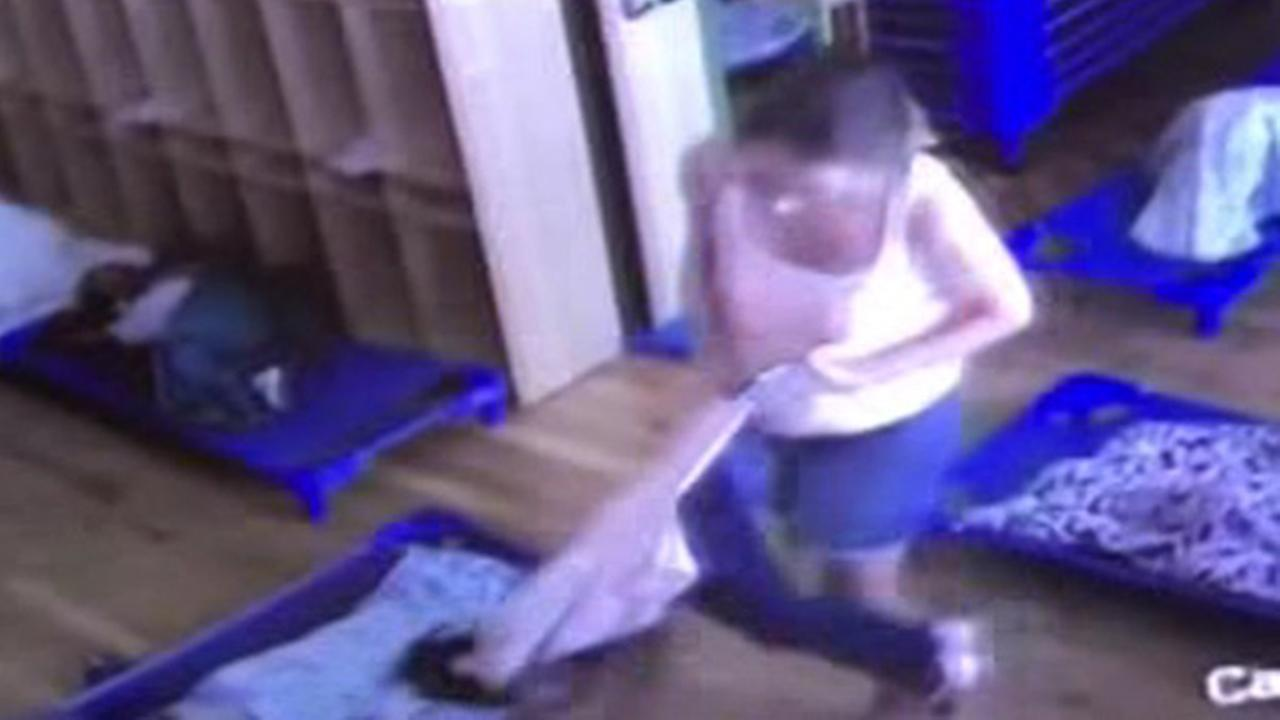 Day care worker caught on camera allegedly hitting, pushing toddler girl in Brooklyn