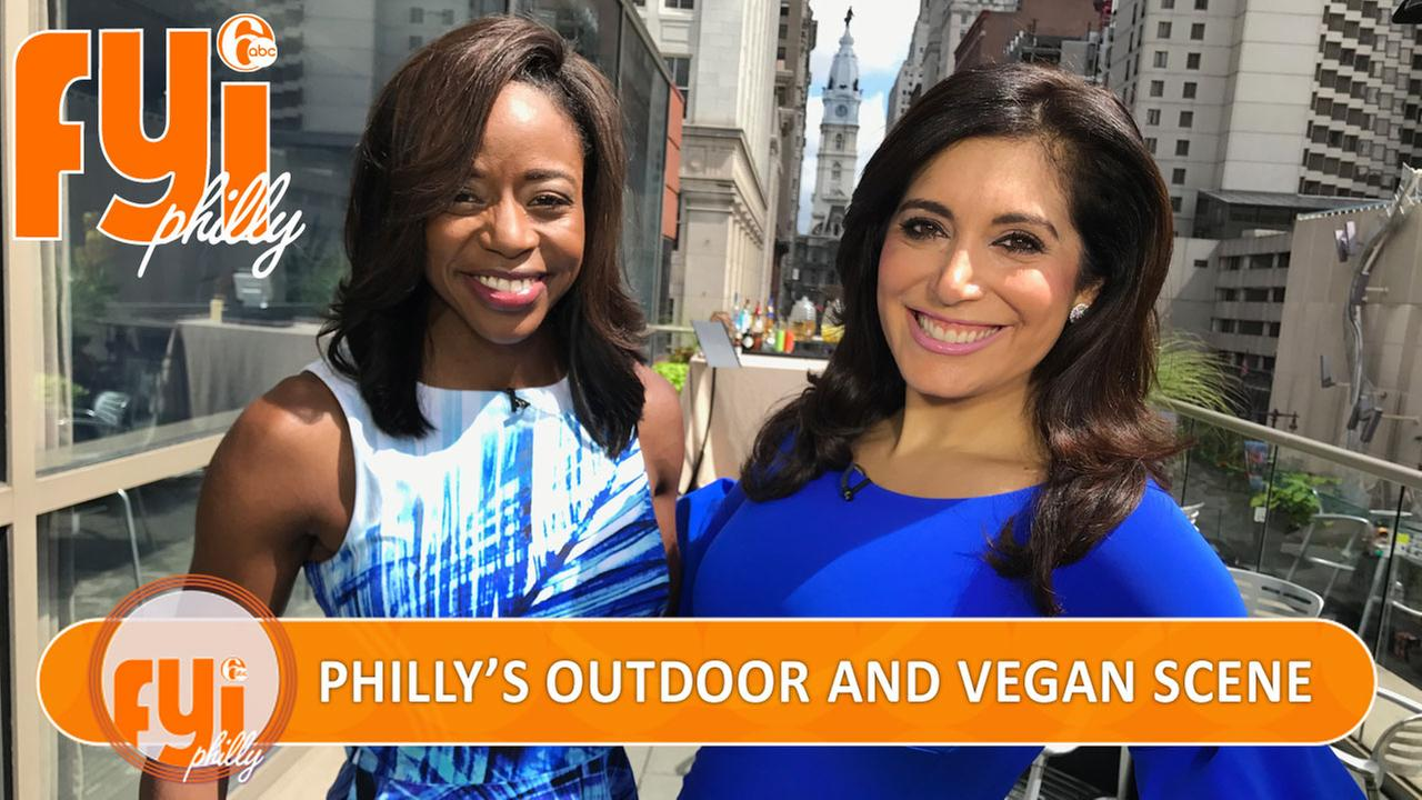 Touring Philly's immersive outdoor and thriving vegan scene