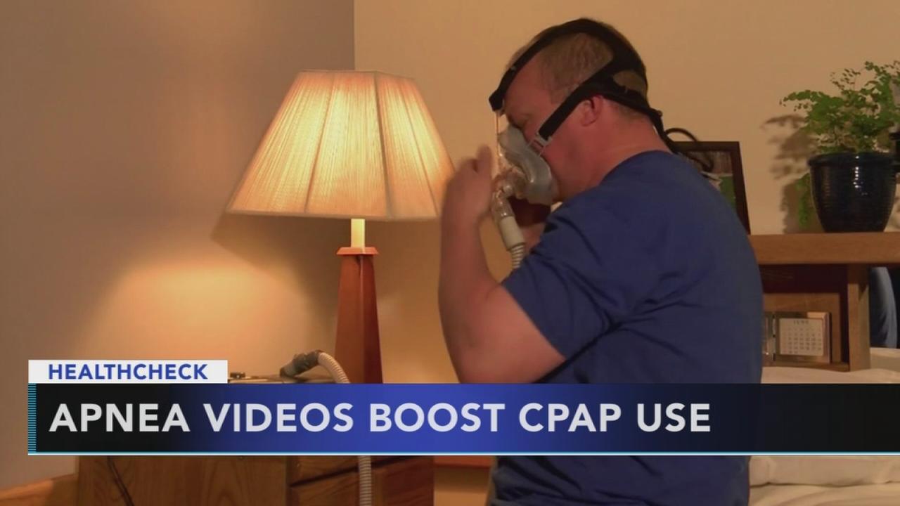 Apnea videos boost  CPAP use